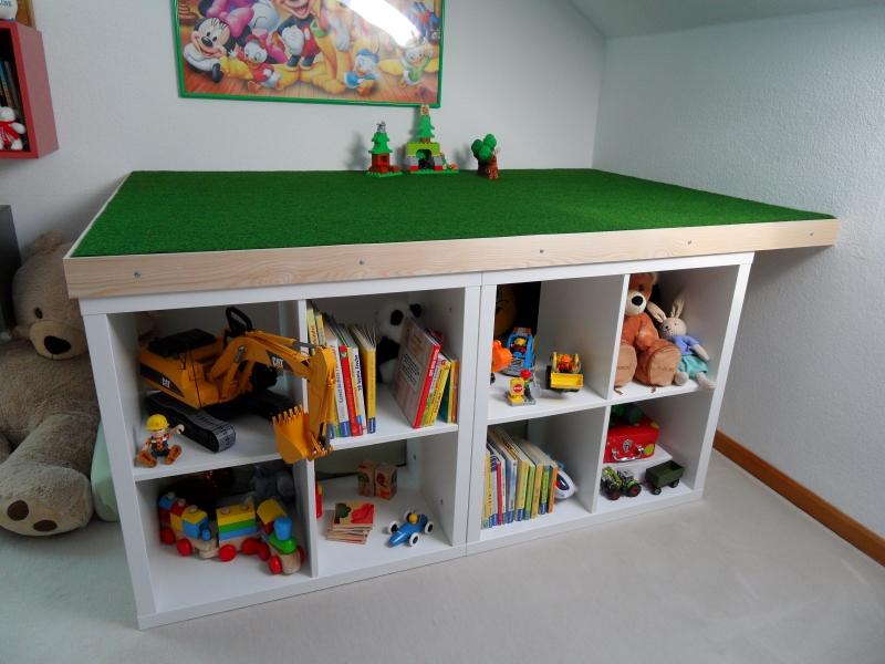 Höhle / Spielplattformr Kinderzimmer - Bauanleitung zum Selberbauen ...