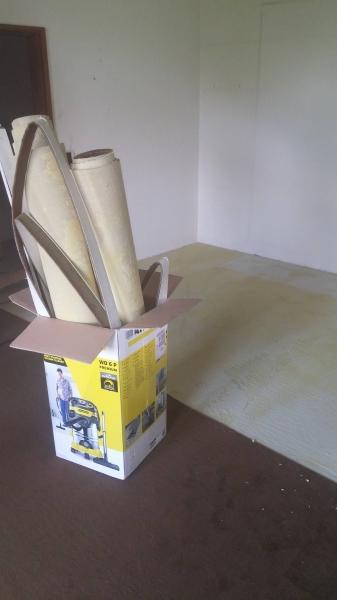 40 Jahre Alten Teppichboden Entfernen Update Bauanleitung Zum