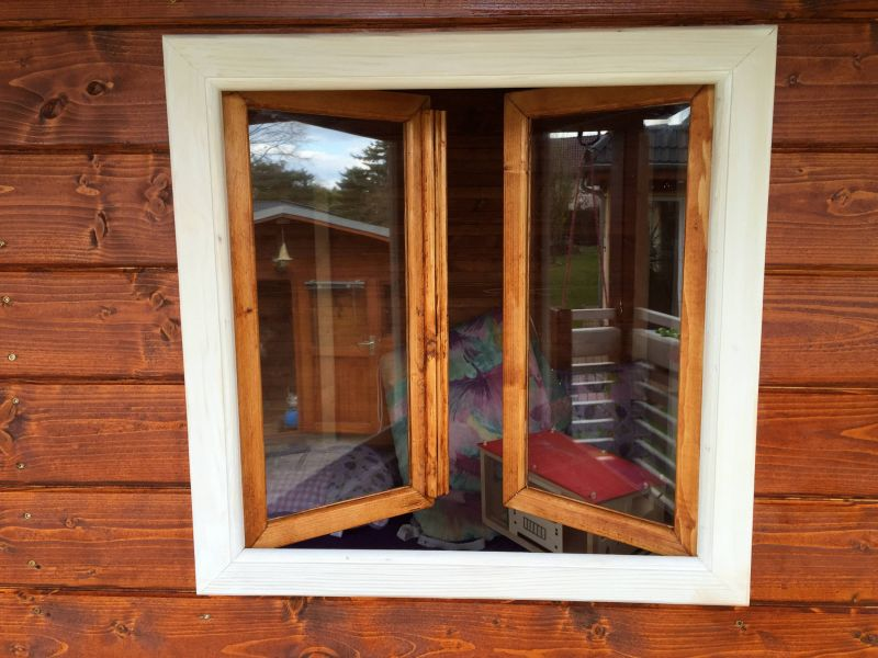 Relativ Fenster für Holzhaus / Stelzenhaus - Bauanleitung zum Selberbauen KY91