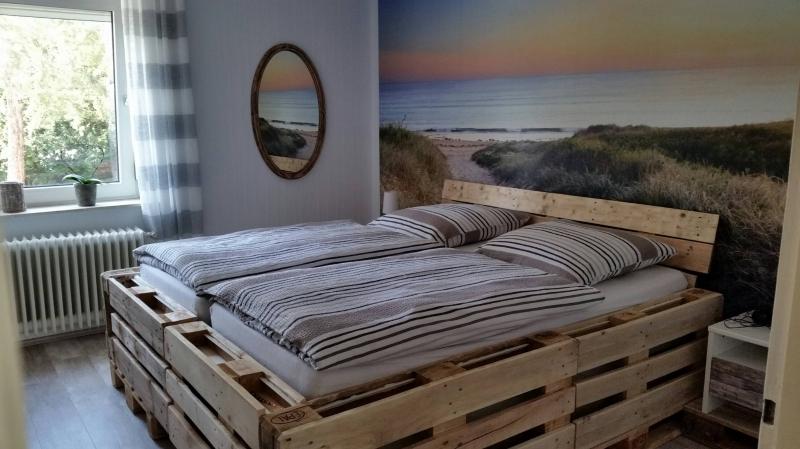 Euro Paletten Bett Mit Led Beleuchtung Bauanleitung Zum