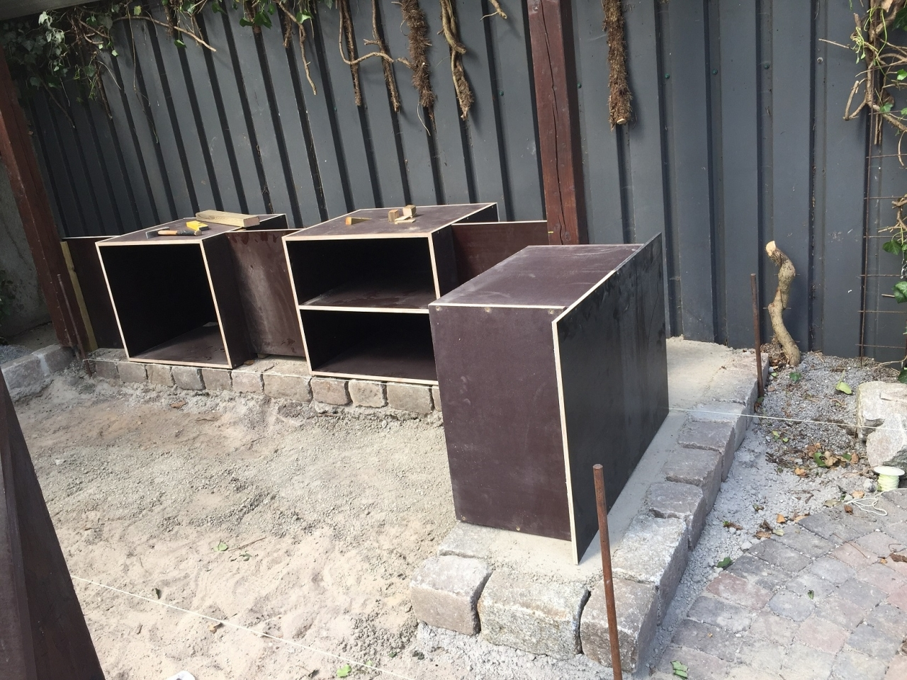 Schränke Für Außenküche : Aussenküche & terrasse bauanleitung zum selberbauen 1 2 do.com