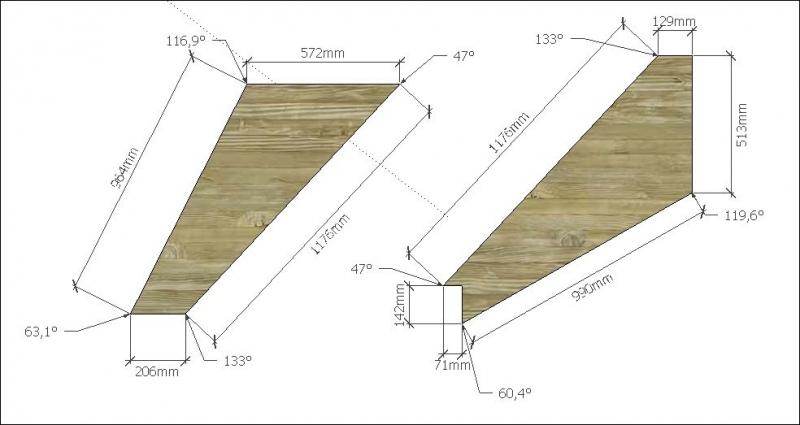 1/4 gewendelte Treppe - Bauanleitung zum Selberbauen - 1-2
