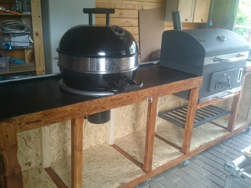 Outdoor Küche Kugelgrill : Outdoorküche bauanleitung zum selberbauen 1 2 do.com deine