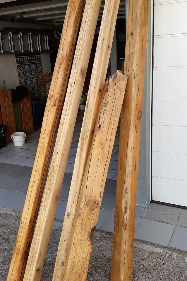 Alte Scheunenbalken aufbereiten - Bauanleitung zum Selberbauen - 1-2 ...