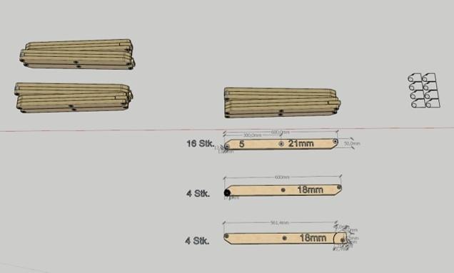 Scherenhubtisch - Bauanleitung zum Selberbauen - 1-2-do