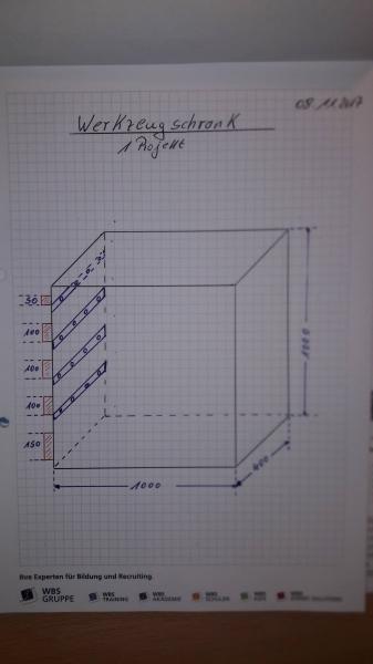 Werkzeugschrank - Bauanleitung zum Selberbauen - 1-2-do.com ...
