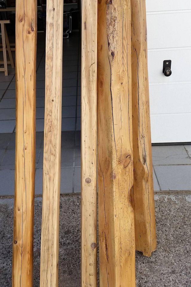 Alte Scheunenbalken Aufbereiten Bauanleitung Zum