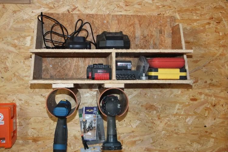 halterung f r akkuschrauber und zubeh r bauanleitung zum selberbauen 1 2 deine. Black Bedroom Furniture Sets. Home Design Ideas