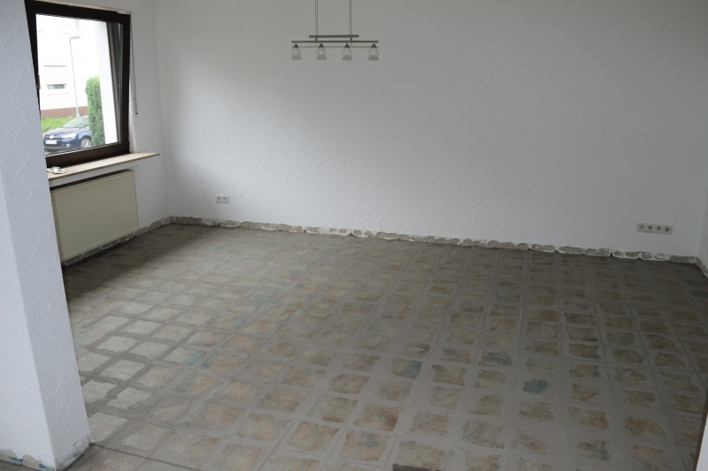 Fußboden in Wohn und Esszimmer erneuern Bauanleitung