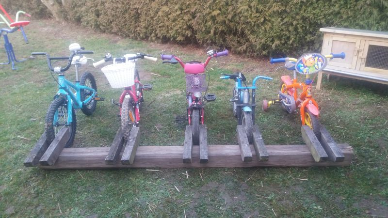 Fahrradständer Aus Altholz Bauanleitung Zum Selberbauen 1 2 Do