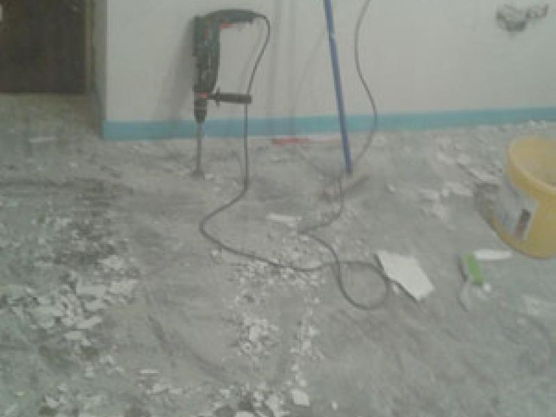 ausgleichsmasse von bitumen estrich entfernen bauanleitung zum selberbauen 1 2. Black Bedroom Furniture Sets. Home Design Ideas