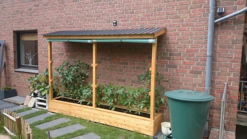 ein tomatenhaus ans haus angelehnt bauanleitung zum selberbauen 1 2 deine