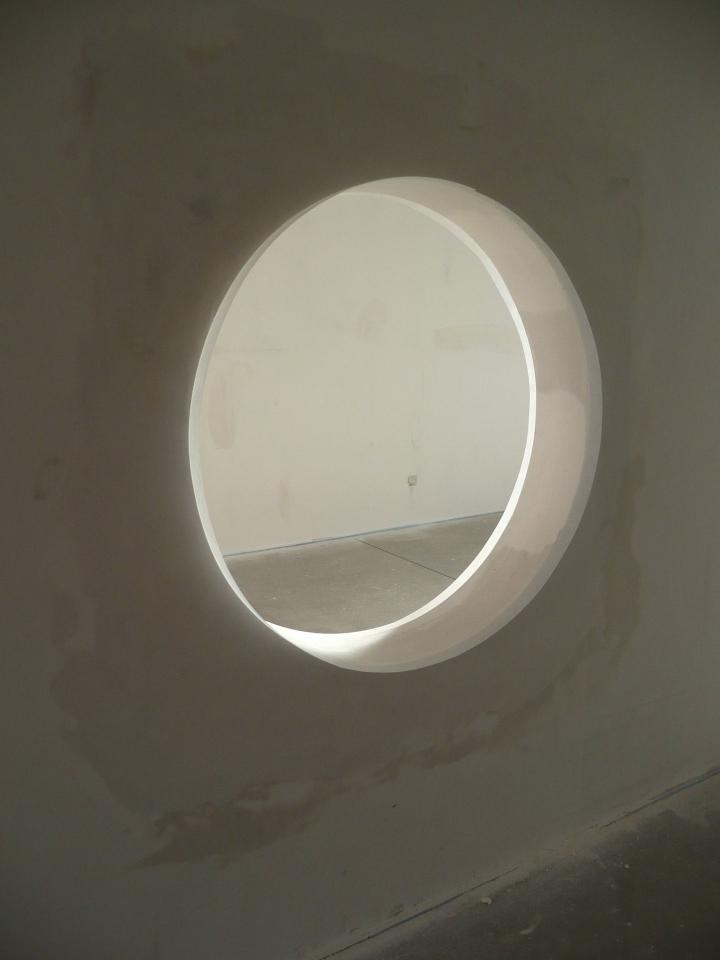 Super Bau eines runden Fensters / Mauerdurchbruchs - Bauanleitung zum IW75