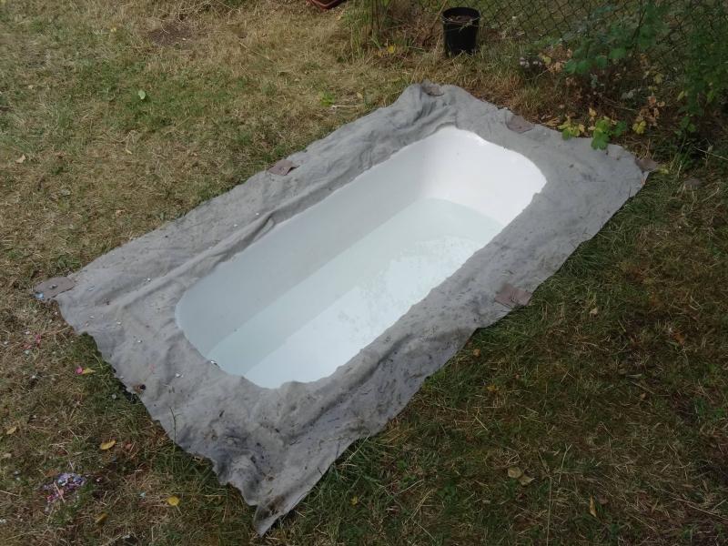 badewanne im garten bauanleitung zum selberbauen 1 2 deine heimwerker community. Black Bedroom Furniture Sets. Home Design Ideas