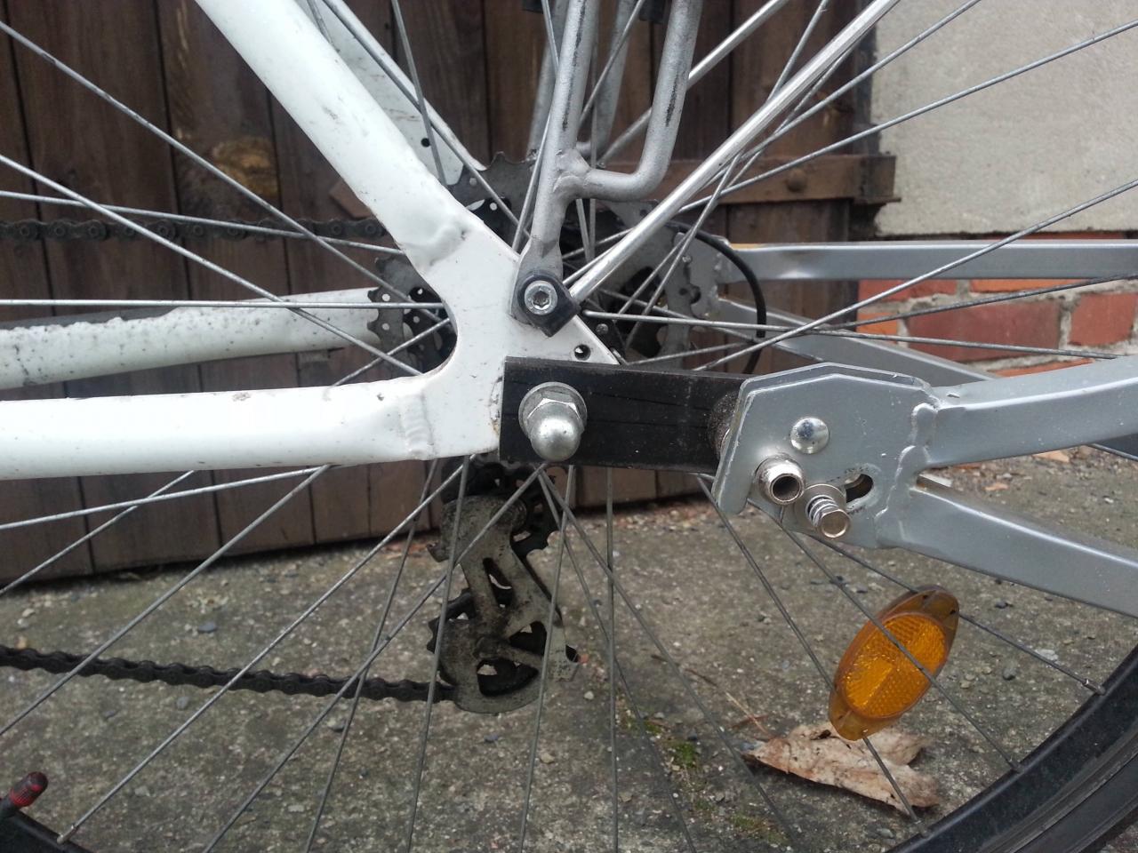 Kupplung Für Einrad Fahrradanhänger Bauanleitung Zum Selberbauen