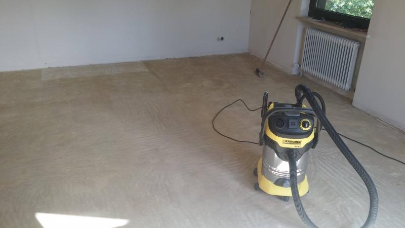 Super 40 Jahre alten Teppichboden entfernen update - Bauanleitung zum PQ94