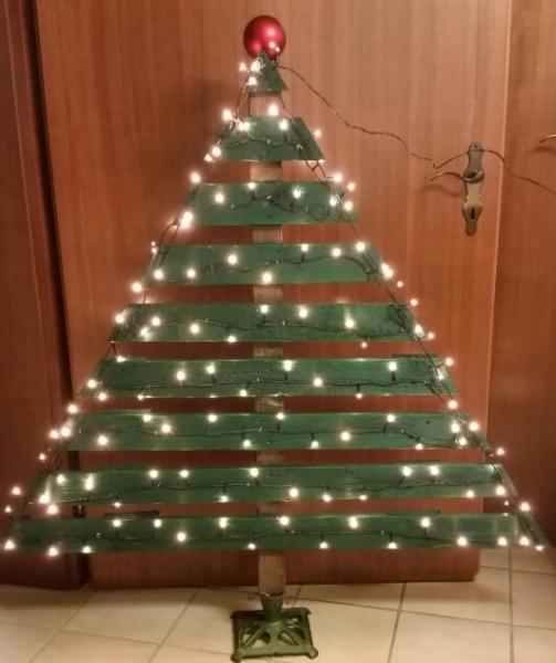 Weihnachtsbaum Aus Holzpalette Bauanleitung Zum Selberbauen 1 2
