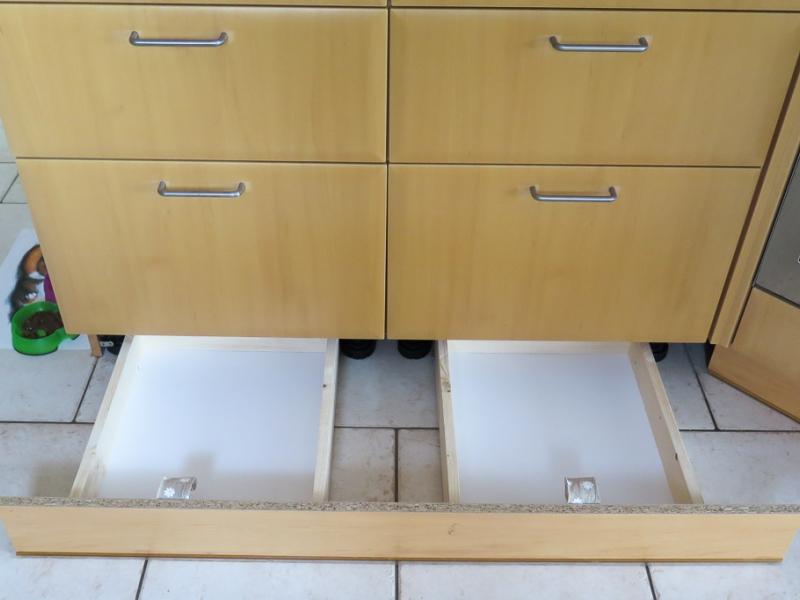 Laden für Sockelleiste in der Küche - Bauanleitung zum Selberbauen ...