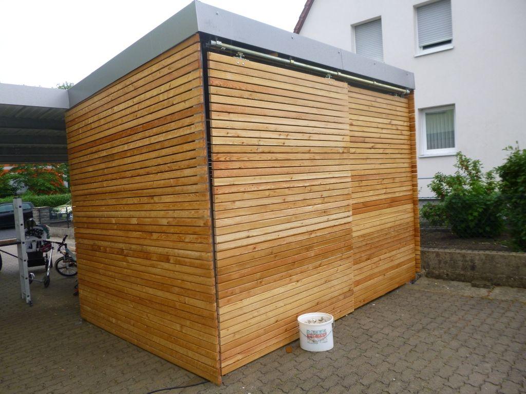 Carport Hutte Mit Rhombusleisten Bauanleitung Zum Selberbauen