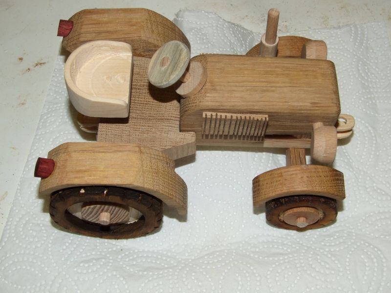 Traktor Aus Holz Bauanleitung Zum Selberbauen 1 2 Do Com