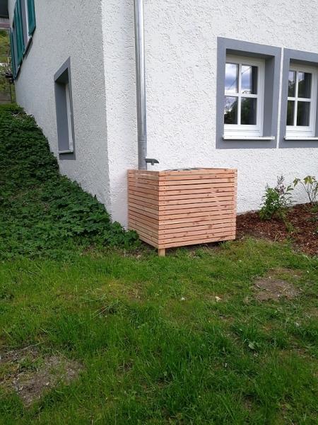 Einfache Verkleidung Für Regentonne Bauanleitung Zum Selberbauen