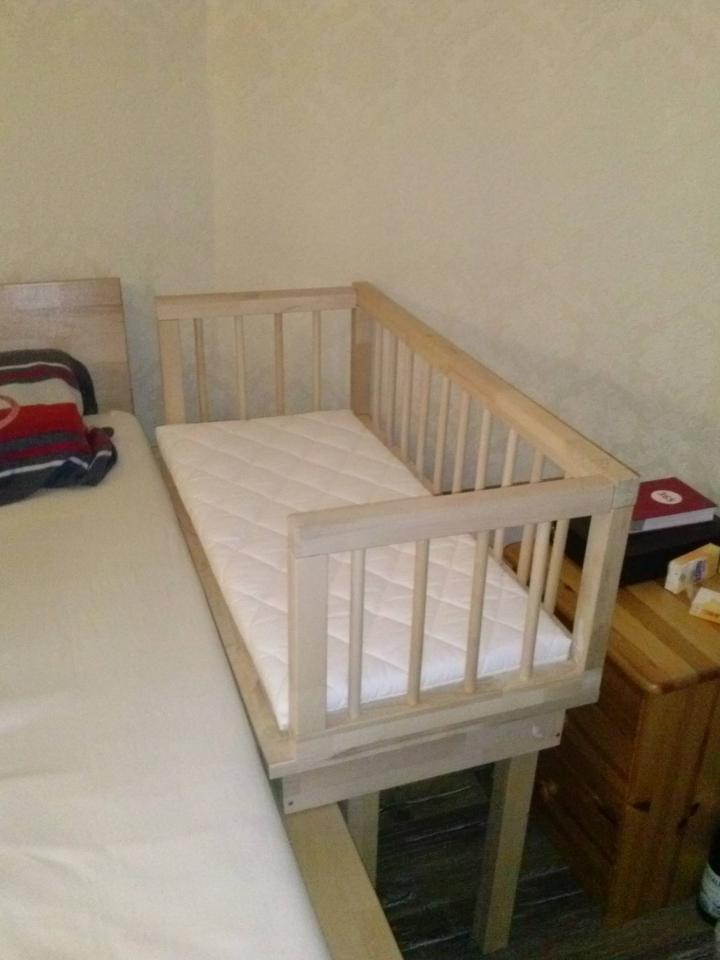 Kinderbett Beistellbett Babybett Bauanleitung Zum Selberbauen 1