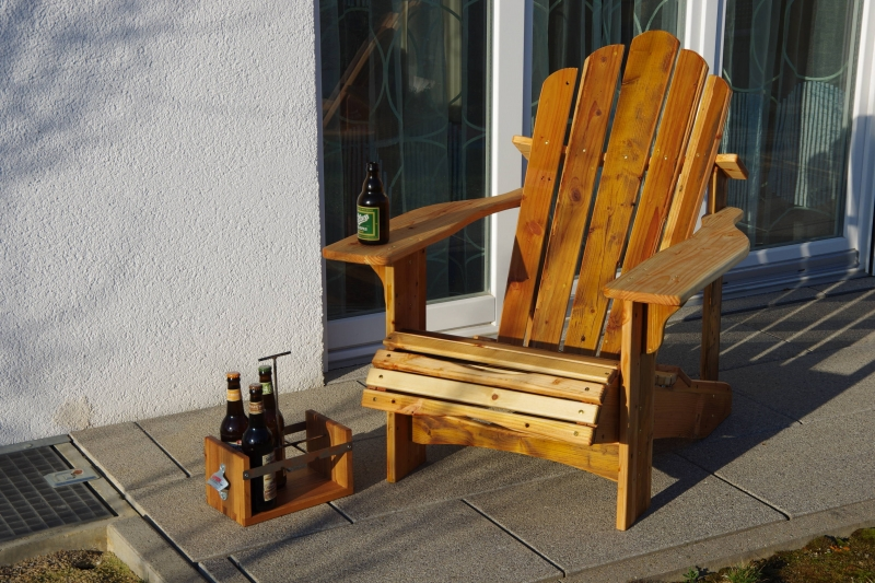 How To Better Build An Adirondack Chair