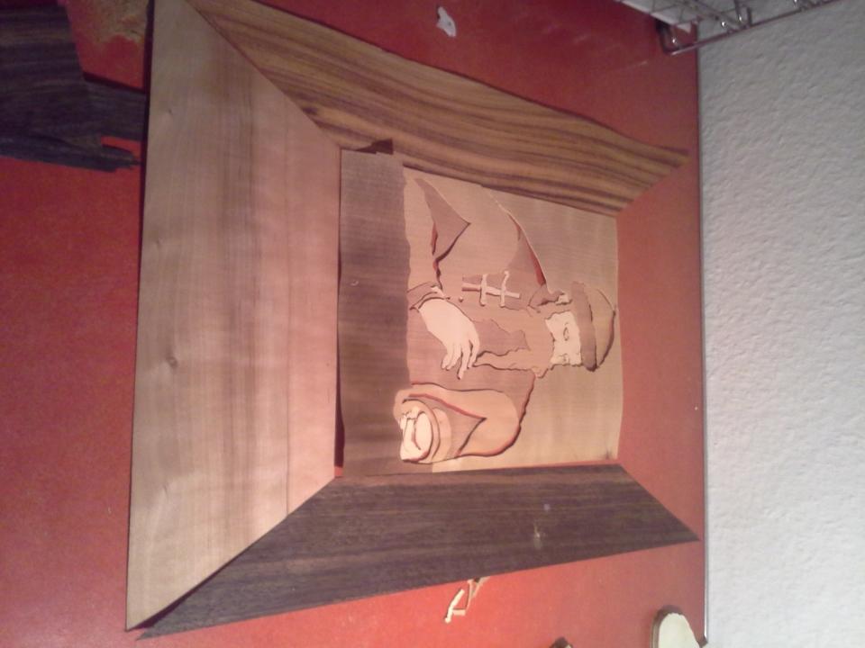 Intarsie Edelholz Gutenberg Bauanleitung Zum Selberbauen 1 2 Do