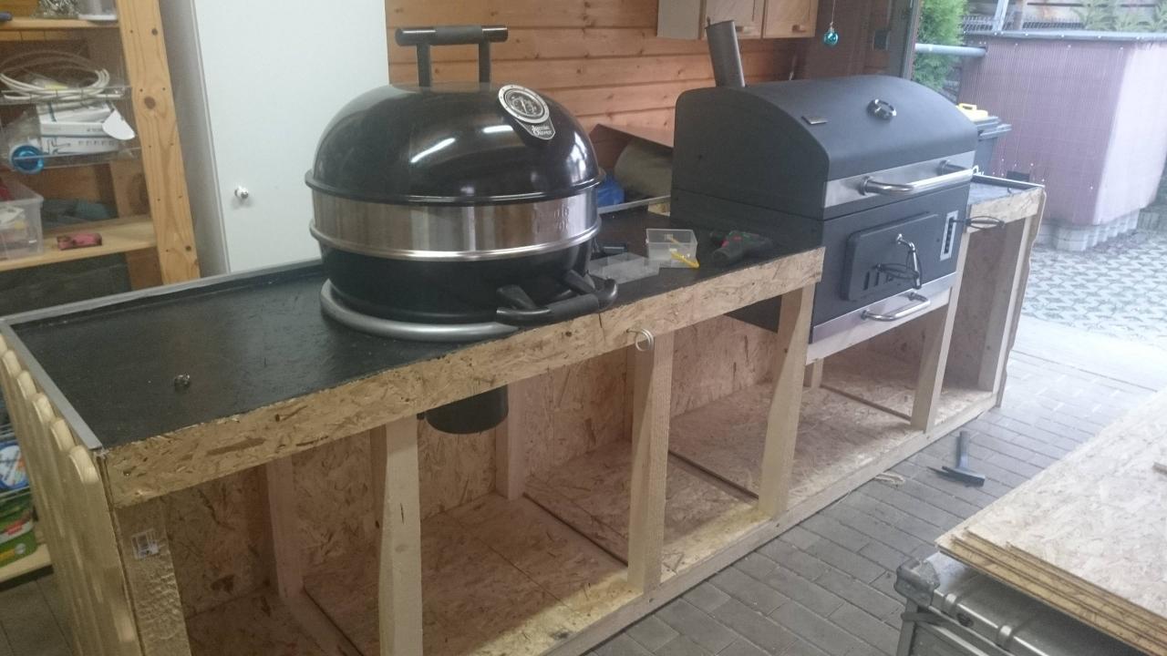 Outdoorküche - Bauanleitung zum Selberbauen - 1-2-do.com ...