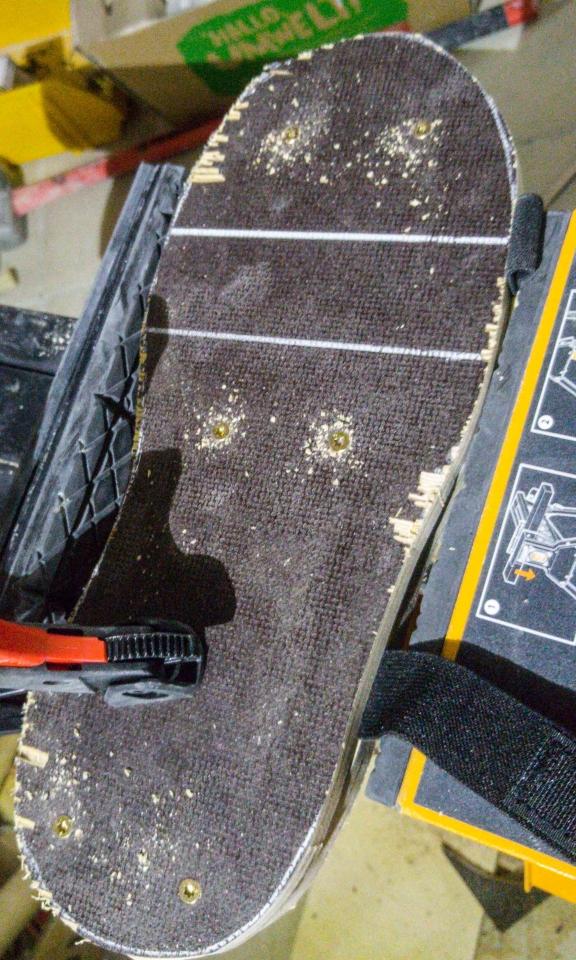 Berühmt Quick & Dirty Nagelschuhe - Bauanleitung zum Selberbauen - 1-2-do @YV_44