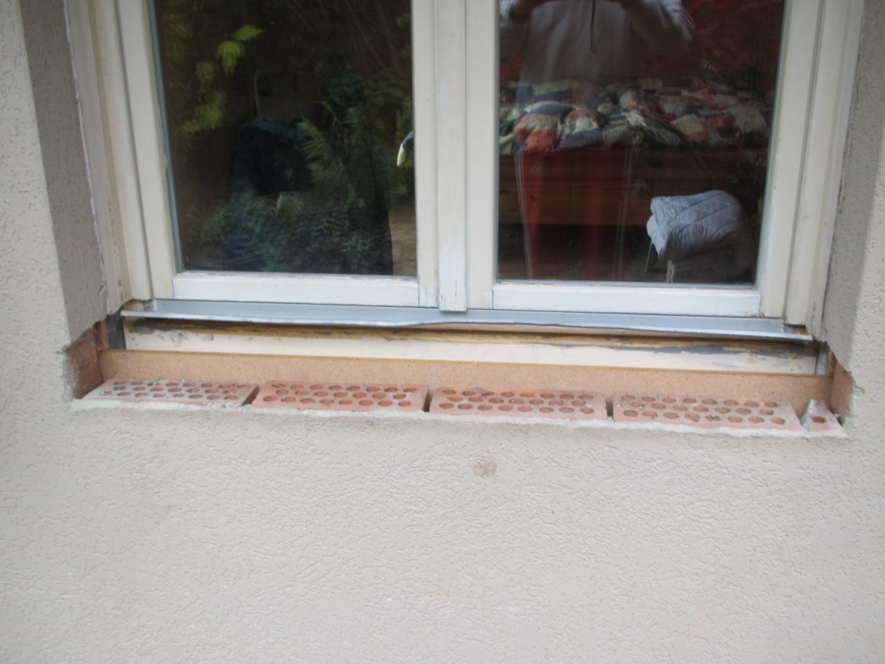Top Fensterbänke entfernen für den Einbau neuer Fenster - Bauanleitung PL03
