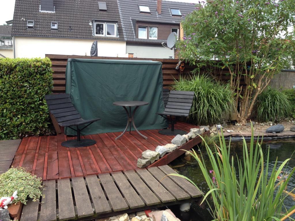 Terrasse mit paletten bauen wohn design - Palettenmobel bauanleitung ...