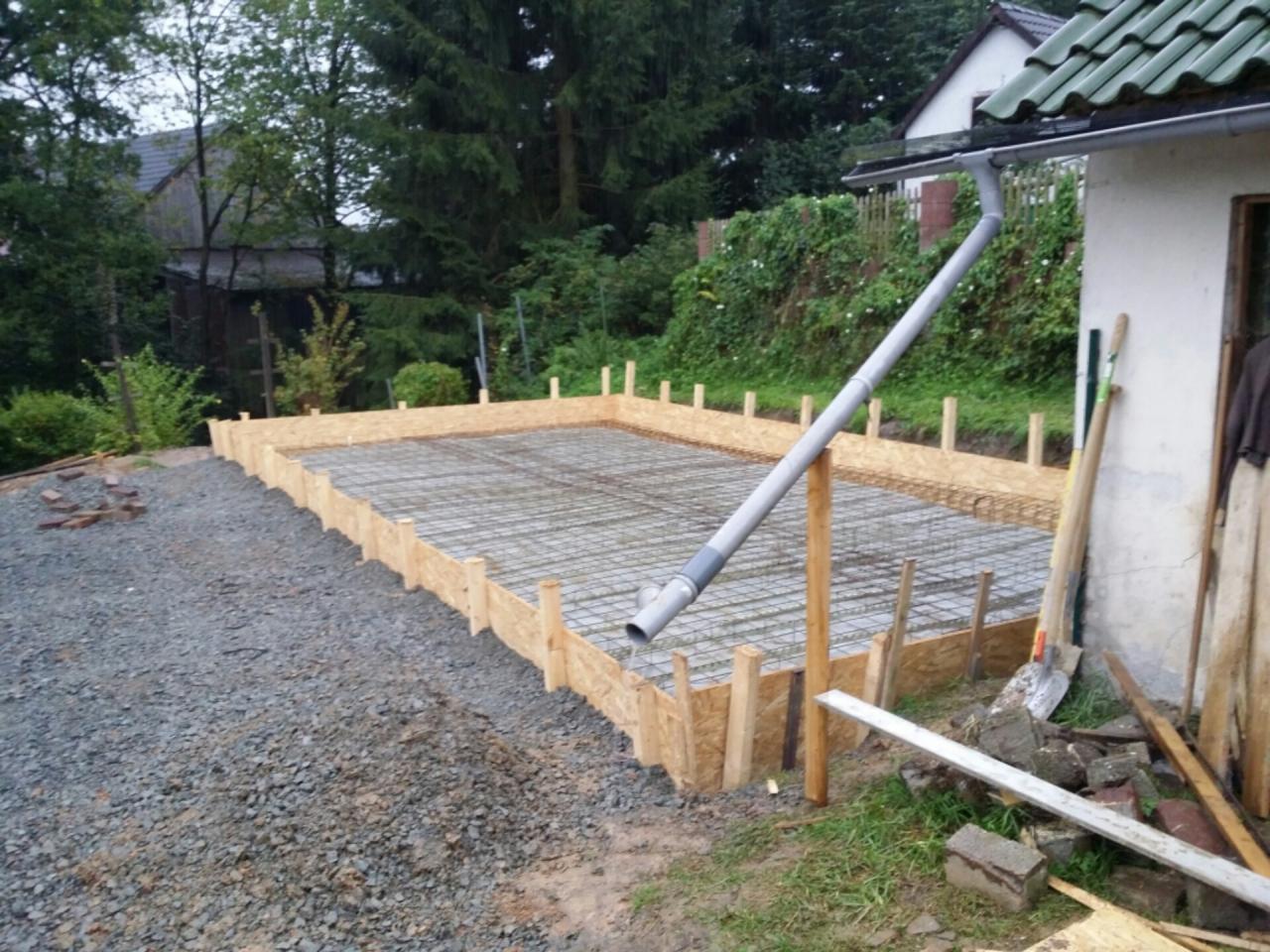 Bodenplatte Mit Streifenfundament Oder Frostschurze Bauanleitung