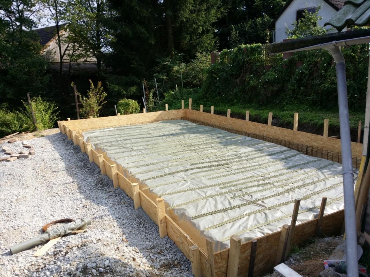 Bodenplatte Schalung Selber Machen Bodenplatte Energiesparend Bauen