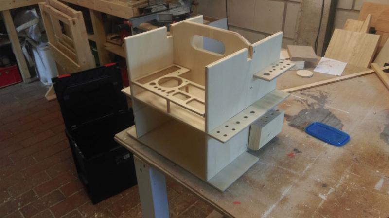 Gut bekannt Werkzeugkasten - L-Boxx Einsatz für Handwerkzeug - Bauanleitung EF26