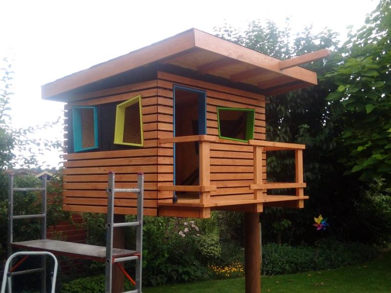 kinderspielhaus im garten bauanleitung zum selberbauen 1 2 deine heimwerker community. Black Bedroom Furniture Sets. Home Design Ideas