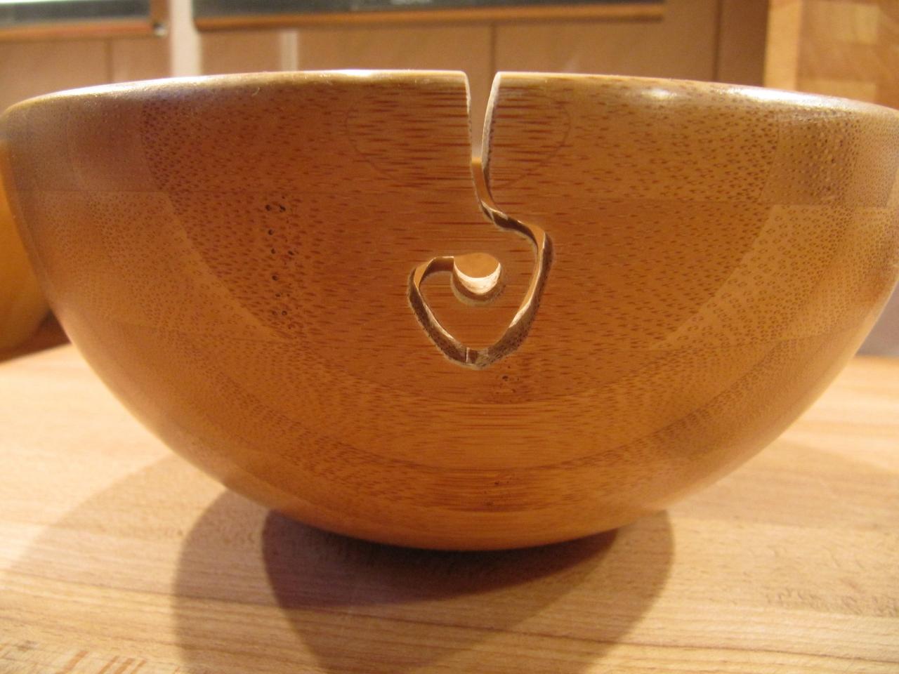 Garnschale Holz wollschale - bauanleitung zum selberbauen - 1-2-do - deine