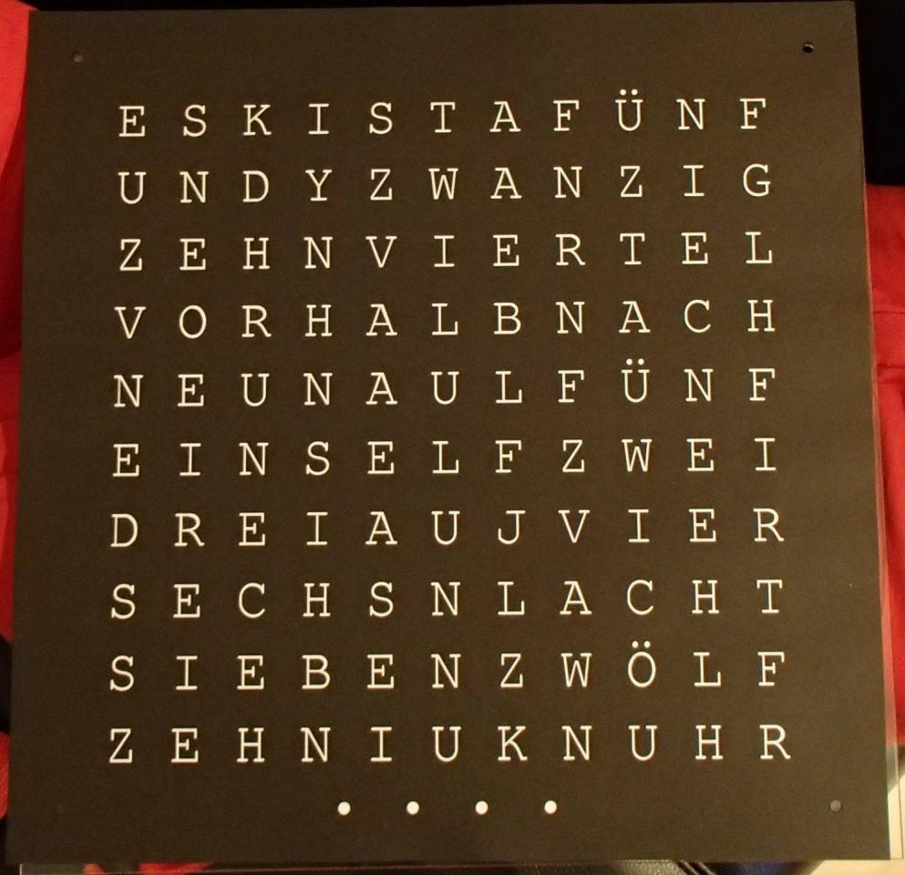 Word Clock V2 Bauanleitung Zum Selberbauen 1 2 Docom Deine