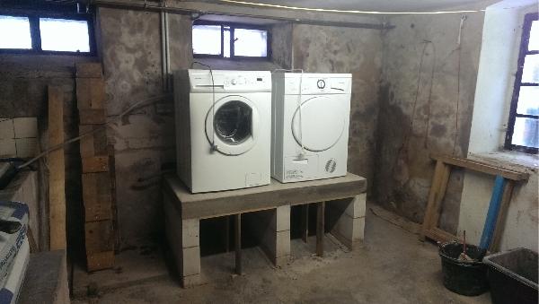 Außergewöhnlich Podest für Waschmaschine und Trockner - Bauanleitung zum @ZA_27