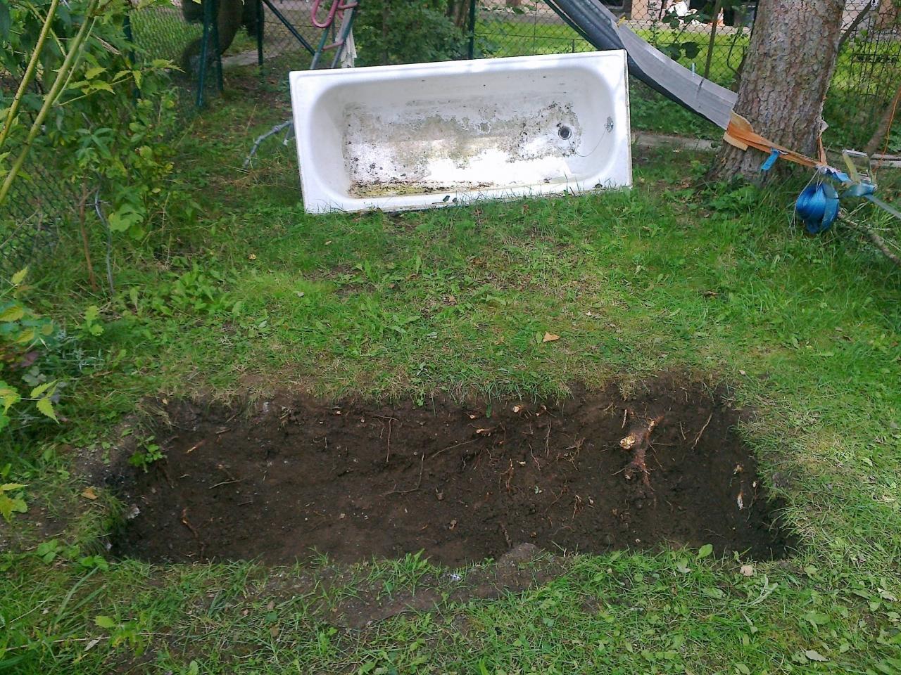 Badewanne Im Garten.Badewanne Im Garten Bauanleitung Zum Selberbauen 1 2 Do
