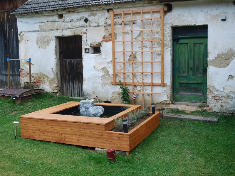 Brunnen Selber Bauen , Quellsteine Im Garten Mein Bisher Größter Springbrunnen