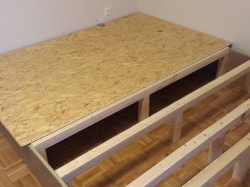 Podestbett bauanleitung zum selberbauen 1 2 - Podestbett bauen ...