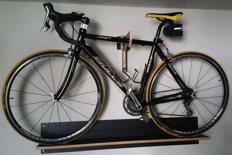 fahrrad wandhalterung bauanleitung zum selberbauen 1 2. Black Bedroom Furniture Sets. Home Design Ideas