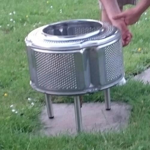 Aus Einer Waschetrommel Einen Feuerkorb Bauen