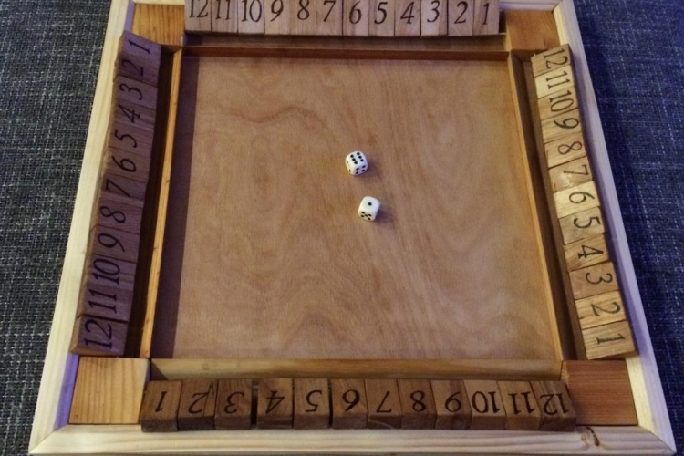 Shut The Box Bauanleitung