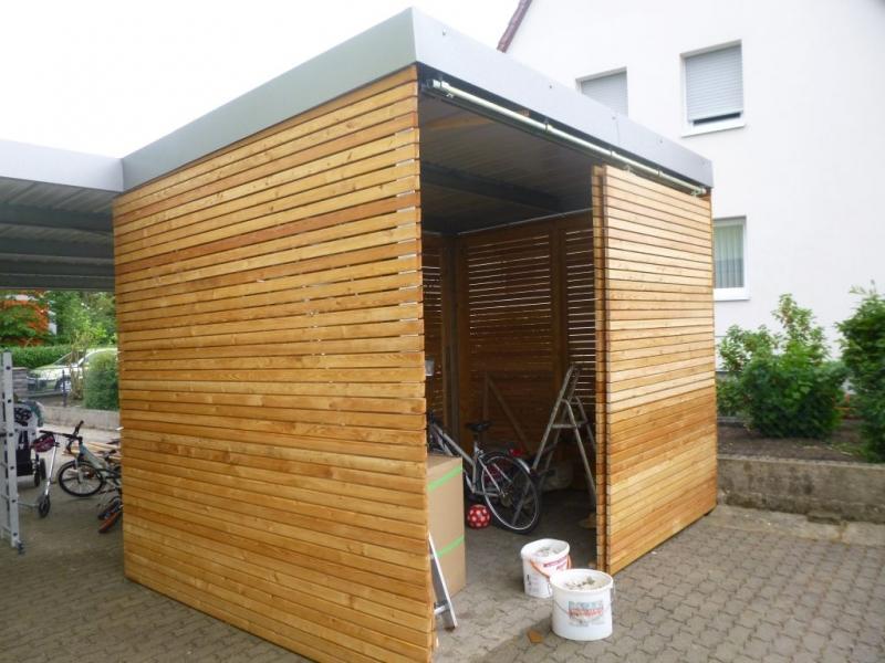 carport h tte mit rhombusleisten bauanleitung zum selberbauen 1 2 deine heimwerker. Black Bedroom Furniture Sets. Home Design Ideas