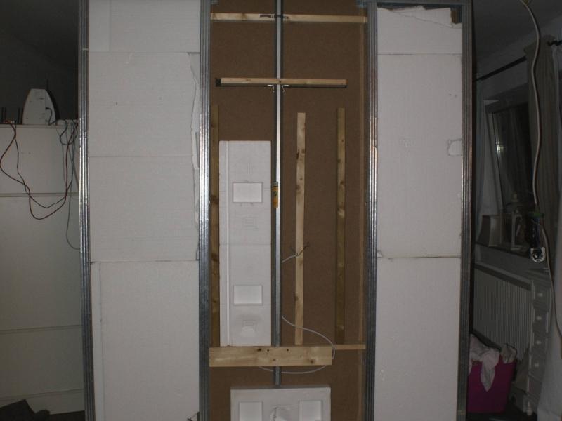 drehbare tv wand als raumteiler bauanleitung zum selberbauen 1 2 deine heimwerker. Black Bedroom Furniture Sets. Home Design Ideas