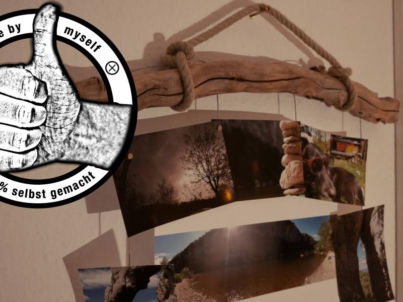 bilderrahmen selber machen anleitung, bilderrahmen aus treibholz und fotodraht - bauanleitung zum, Design ideen