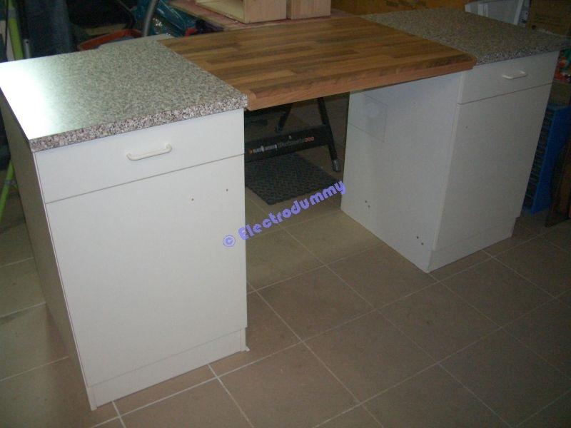 Küchenunterschrank teilen und verbreitern - Bauanleitung zum ...