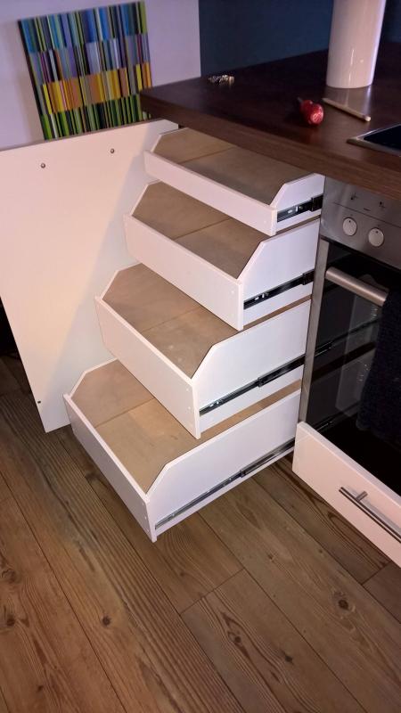 Schubladen / Auszüge für Küchenunterschrank - Bauanleitung ...